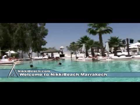 Video of Nikki beach Marrakech