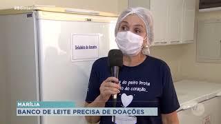 Banco de Leite Humano de Marília precisa de doações