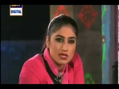 qandeel baloch in desi kuriyan | after watching  baghi