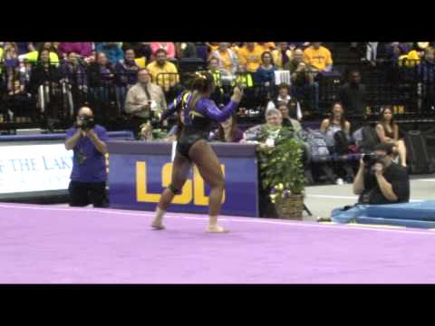 WATCH: LSU Gymnast Kills With Perfect Floor Exercise