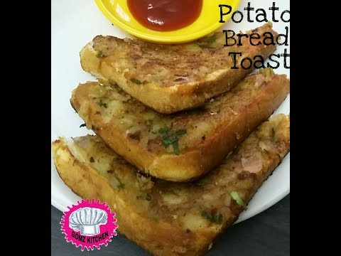 Potato Masala Bread Toast- Bread Sandwich.recipe @Gomz.Kitchen