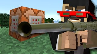 Minecraft: Super Weapons - WITH ONLY A SINGLE COMMAND BLOCK