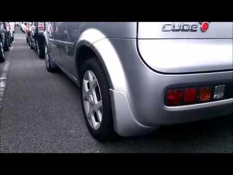 H15 ニッサン キューブ EX (BZ11) 少走3万4千km コンパクトカー ダイジェスト版 中古車販売前 (видео)