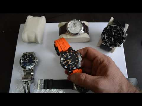 My Oris collection watch