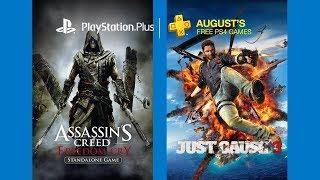 Игры которые станут доступны с 6 августа 2017 для всех подписчиков PlayStation Plus (Европа).Плейлист PlayStation Plus https://goo.gl/12xlmp• Мы ВКонтакте http://new.vk.com/mgames• Мы в Facebook https://www.facebook.com/mgamesua• Мы в Twitter https://twitter.com/mgamesNEWS• Мы в Google+ https://goo.gl/Lw3PnX• Мы в Одноклассниках http://goo.gl/2cFxzV• Магазин MGAMES http://mgames.com.ua• Моя страница ВКонтакте https://vk.com/id66699195• Группа канала ВКонтакте https://new.vk.com/mgames_tv• Прямые трансляции на Twitch http://www.twitch.tv/mgamesua