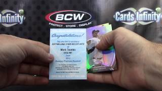 Silva's 2013 Inception, Platinum&2012 Finest Baseball 3 Box Break