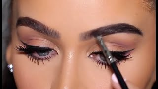 DRUGSTORE VS HIGH END: EYEBROW TUTORIAL +EXCITING NEWS! by Carli Bybel