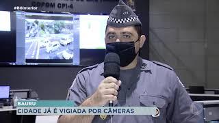 Câmeras de monitoramento começam a ser instaladas em Bauru