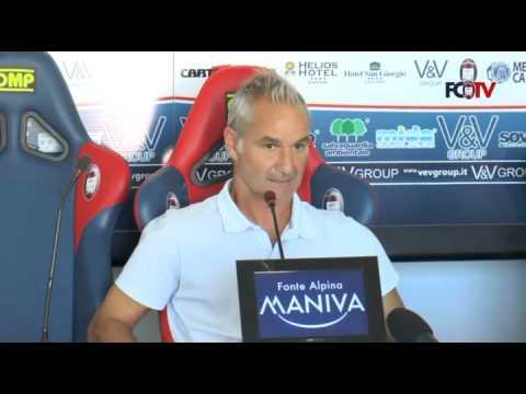 Calcio, Crotone: Drago alla vigilia del Modena
