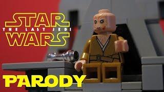 Snoke's Death in LEGO? (Last Jedi Parody)