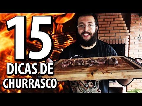 15 dicas para Churrascos