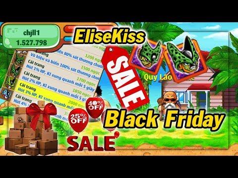 Ngọc Rồng Online - Ngày Thứ Sáu Đen Tối Black Friday Cùng EliseKiss Mua Sắm - Thời lượng: 10 phút.