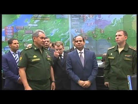زيارة الرئيس عبد الفتاح السيسي لوزارة الدفاع الروسية بختام زيارته لموسكو