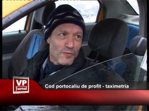 Cod portocaliu de profit – taximetria