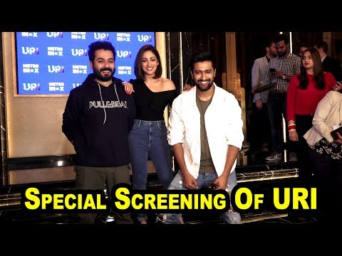 Special Screening Of URI for Indian Army Officers and their family members