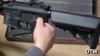 Airsoft G&D M4 MK18 DTW 開封 Review