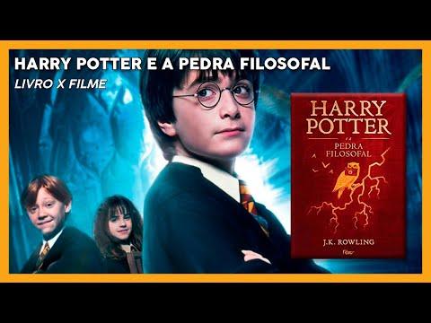 LIVRO X FILME | Harry Potter e a Pedra Filosofal ?