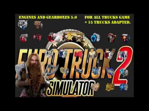Pack 2 compatible trucks of Powerful Engines Pack v5.0