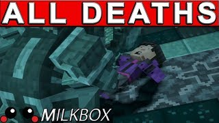 This is a showcase of all the Minecraft Season 2 Episode 1 deaths or death scenes in Minecraft: Story Mode - Season 2 (EP1) Eventually, I will make a collection of all the Minecraft story mode 2 deaths and call it Minecraft Season 2 All Game Over Screens or All death scenes Minecraft story mode season 2.Want 12 Months of PlayStation Plus with Amazon? http://amzn.to/2nE0LDb (Affiliate Link) (U.S.)http://amzn.to/2nXmamY (Affiliate Link) (U.K.)------------------------------------------------------------------------------------------Are you a YouTube content creator? Click the link to apply for a Curse Partnership: ► https://www.unionforgamers.com/apply?referral=4hw6r7lzcccabp (Affiliate Link)------------------------------------------------------------------------------------------Subscribe to the milkiest channel on the Internet! 。◕ ‿ ◕。►https://www.youtube.com/channel/UCPH28MUR1-Ko5tRQuJf3zmw------------------------------------------------------------------------------------------Social Media!►https://twitter.com/The_Milkbox (Twitter)►http://supermilkbox.tumblr.com/ (Tumblr)►https://www.facebook.com/Super-Milkbox-1380643578903590/?ref=hl (Facebook)------------------------------------------------------------------------------------------Any comments? Just drop them! I reply pretty quick. ------------------------------------------------------------------------------------------Credits:Music that may have been used in this production is provided by Kevin Macleod of incompetech.com