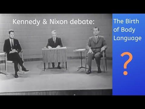 Nixon and Kennedy Debate: The birth of body language?