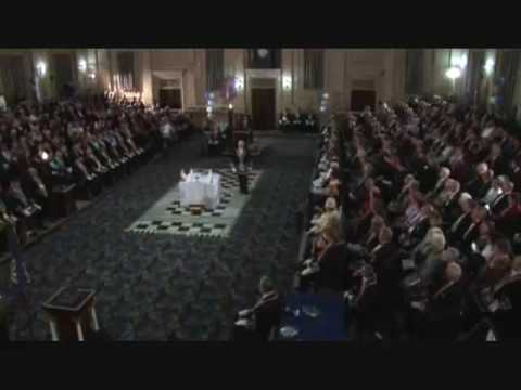 freemasonic - Original Video From: http://www.youtube.com/user/MasonicDocumentary Description: The start of the Lodge Consecration Ceremony - Re-enactment of the Re-consec...