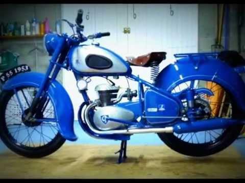 Affiche MOTO PEUGEOT Vélomoteur 1953 Poster Motocyclette
