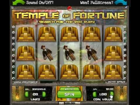 Slot Factory - Playing Temple of Fortune
