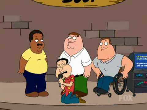 Family Guy - Karaoke bar (Song: Don't Stop Believin')