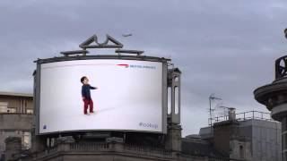 From the Awesome Department: British Airways Billboard Interacts With Flights as They Pass Overhead
