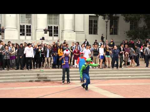 Image of UC Berkeley PSY Gangnam Style Flash Mob