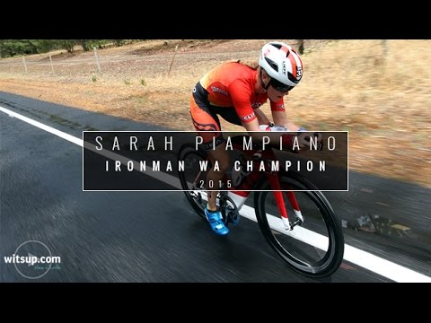 Sarah Piampiano Wins Ironman Western Australia