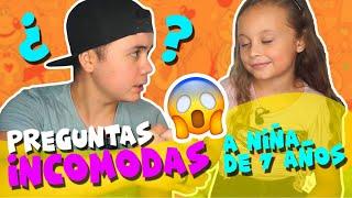 ¿COMO NACEN LOS BEBÉS? Preguntas INCÓMODAS A MI HERMANA DE (7 AÑOS) !!! / Leo Osuna