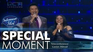Download Video Penampilan Maria mendapatkan respon dari Loren Allred - Spekta Show Top 5 - Indonesian Idol 2018 MP3 3GP MP4