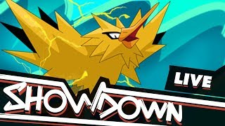 Pokemon Showdown ULTRA Sun and Moon Live: Zapdos stay broken by Thunder Blunder 777