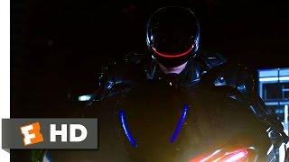 RoboCop (2014) - Robocop vs ED-209 Drones Scene (9/10) | Movieclips