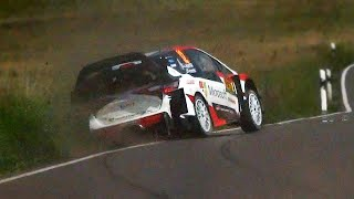 Facebook: http://bit.ly/1YhCbQy Website: http://bit.ly/1PX10LF WRC ADAC Rally Deutschland 2017 - Lappi Big Moment, mistakes and maximum attack!
