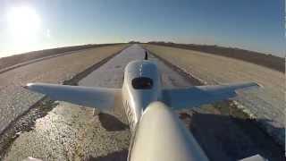 Cirrus SR-20 Ice Runway Landing