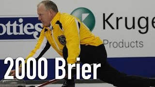 British Columbia's Greg McAulay faces New Brunswick's Russ Howard in the final of the 2000 Labatt Brier. SUBSCRIBE to the...