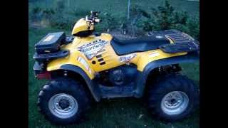 6. 2003 Polaris Sportsman 500 H.O. 4x4 (yellow)