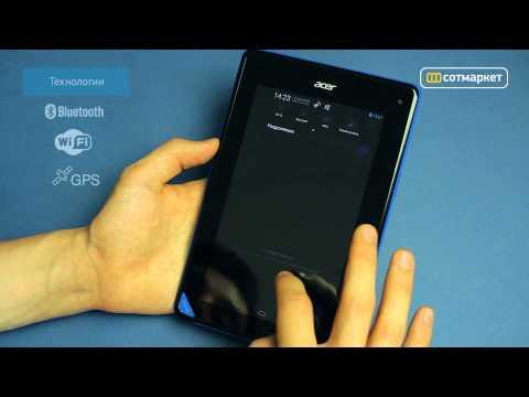 Видео обзор Acer Iconia B1-A71 8GB от Сотмаркета