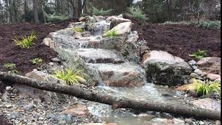 Custom Waterfall in Pineville