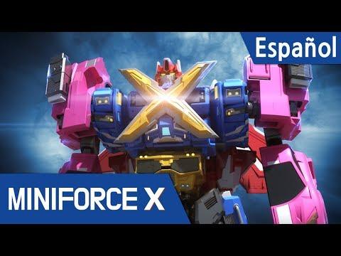 (Español Latino) MINIFORCE Capítulo EP24 -  EL ATAQUE DE DANBOT Z