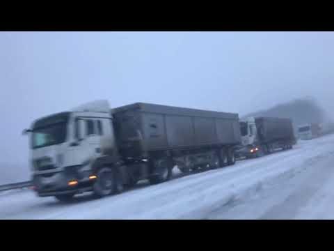 Транспортный коллапс на трассе Киев-Одесса