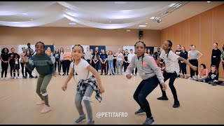 Petit Afro Presents - AfroDance || One Man Workshop Part 1 ||  Eljakim Video