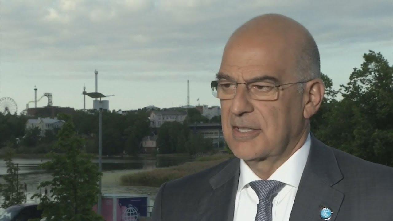 Το ζήτημα της τουρκικής προκλητικότητας στο Αιγαίο και στην Κύπρο ανέδειξε ο υπουργός Εξωτερικών