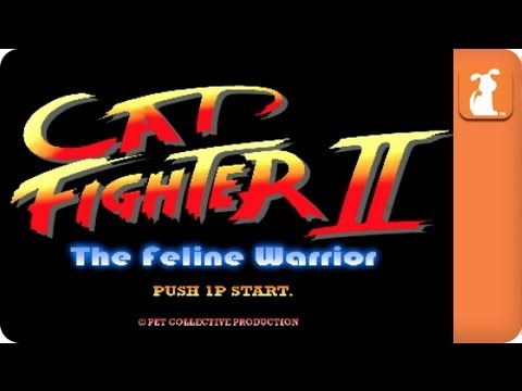 Tierna Parodia: Street Fighter con Gatos