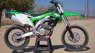 6. 2018 Kawasaki KX450F Specs and Price