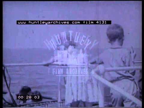 Medway Queen, 1950's - Film 4131