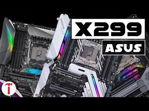 Schede madri X299 Asus   Quale modello fa al caso vostro?
