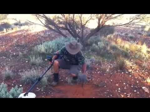 Nugget Hunting with a Minelab GPZ7000